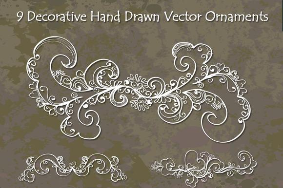 Decorative Hand Drawn Elements