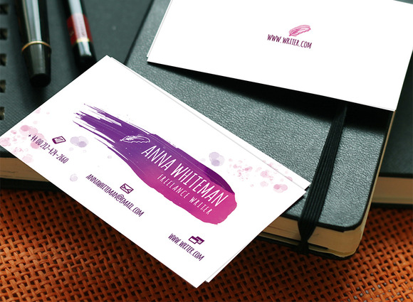 Writer S Business Card