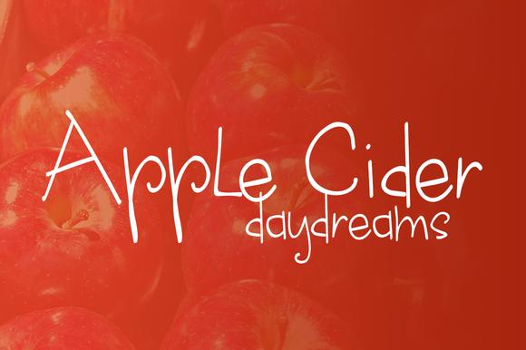 Apple Cider Daydreams