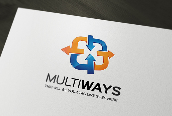MultiWays Logo Template