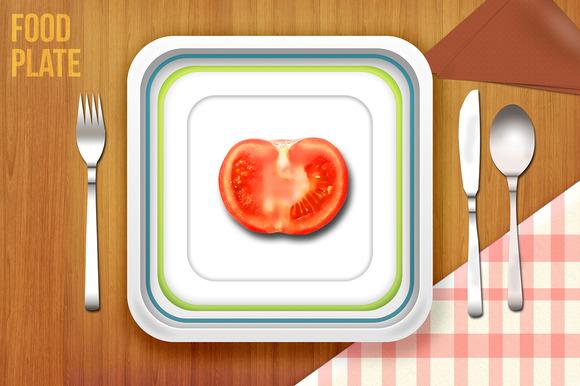 Food Plate Mockups