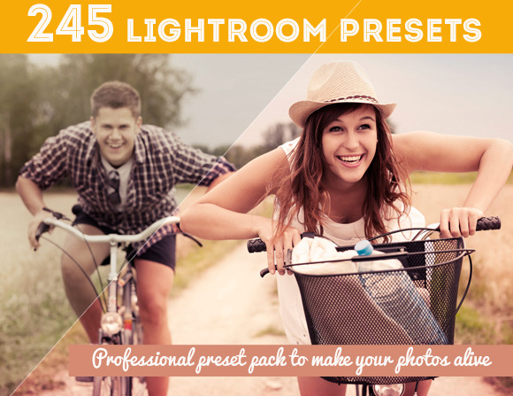 245 Lightroom Presets