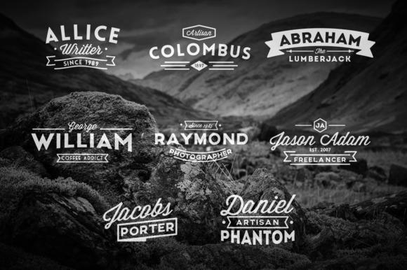Name Based Vintage Logos
