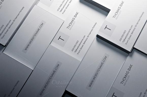 Simple Minimal Busines Card Template