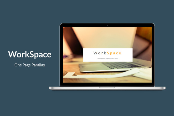 WorkSpace One Page Parallax