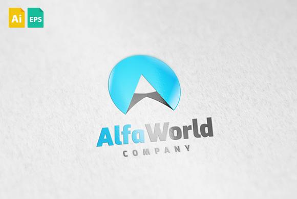 Alfa World Logo