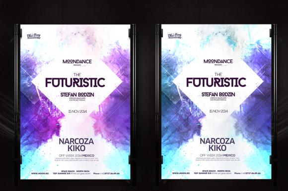Futuristic Poster
