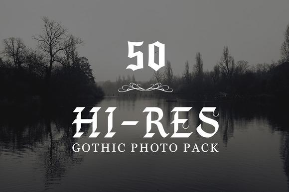 50 Hi-Res Gothic Photographs 30% OFF