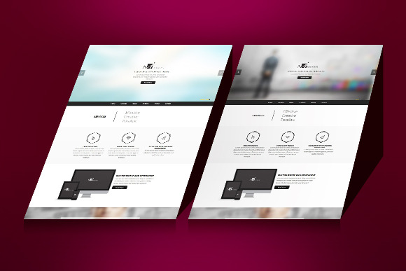Mirr0rs One Page HTML5 Template