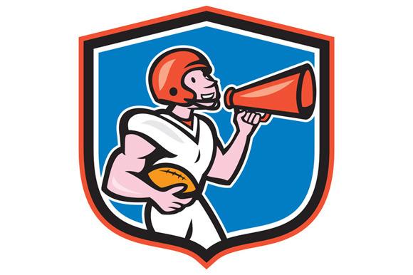 American Football Quarterback Bu