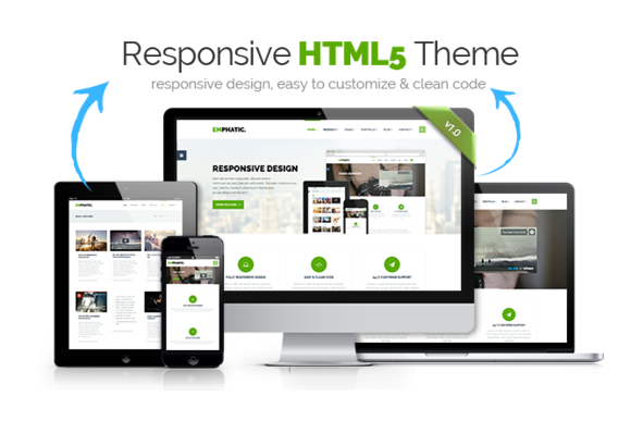 Emphatic Responsive HTML5 Theme