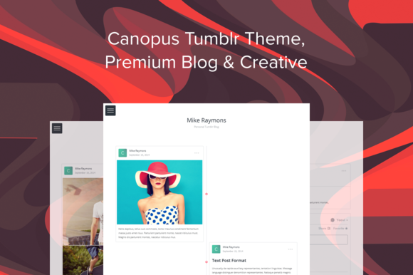 Canopus Tumblr Theme