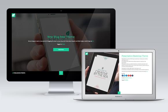 Fresh Blog Wordpress Theme