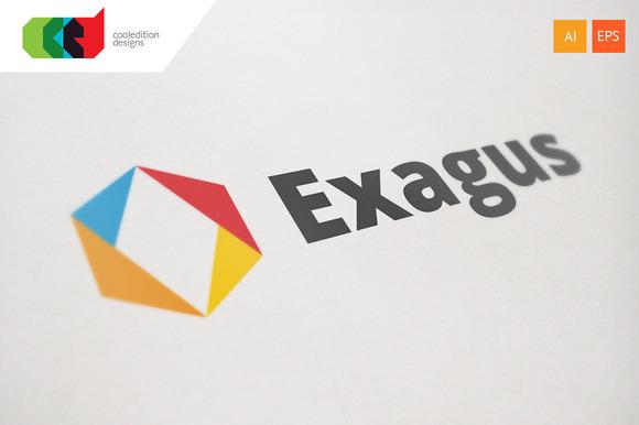 Exagus Logo Template