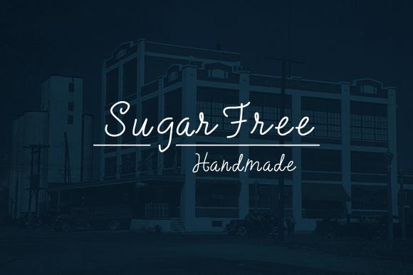 SugarFree Handmade Typeface
