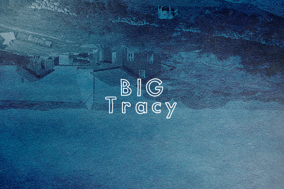 Big Tracy Typeface