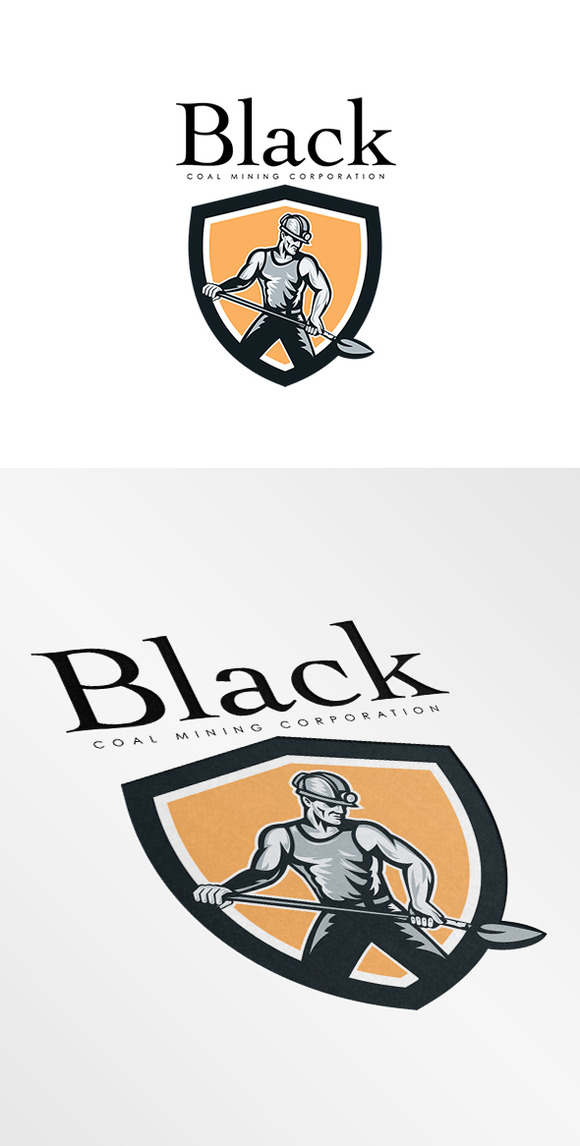 Black Coal Mining Corporation Logo