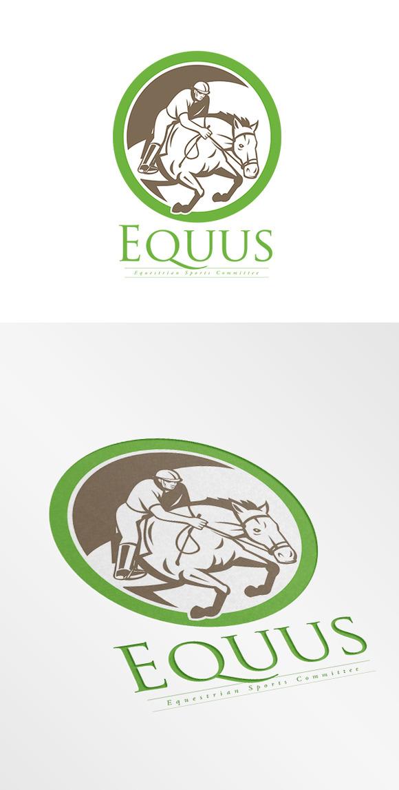 Equus Equestrian Sports Logo
