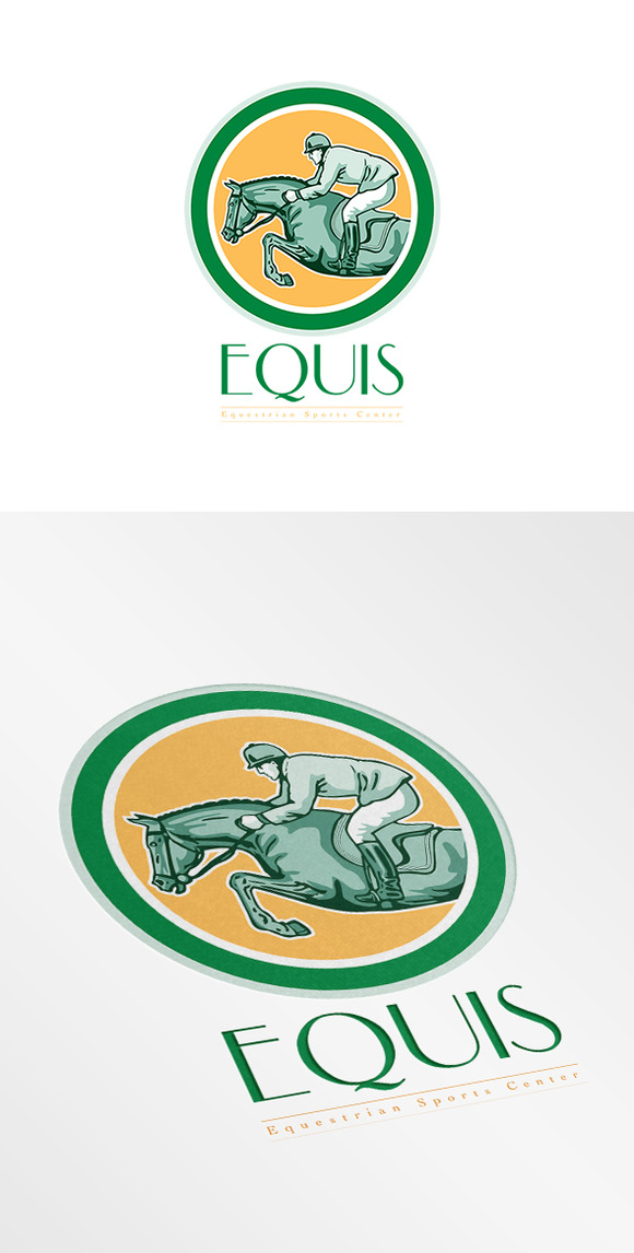 Equis Equestrian Sports Center Logo