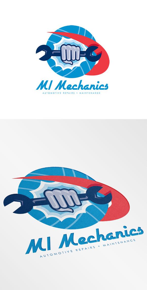 MI Mechanics Automotive Repairs Logo