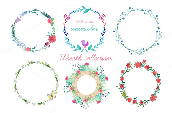 Wreath Collection Different Style