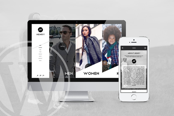 Henry WooCommerce Wordpress Theme