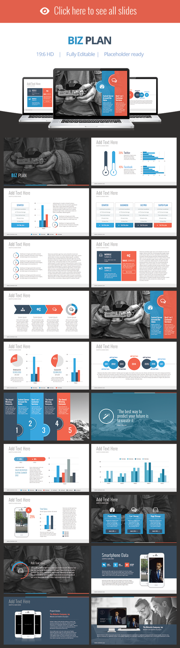 Biz Plan Keynote Template