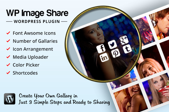 WP Image Share Plugin