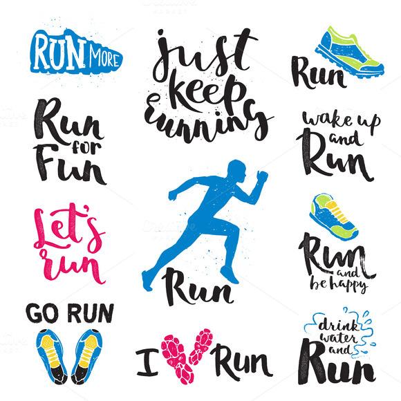 Jogging Flyer Template Psd » Designtube - Creative Design ... Sprint Logo Black