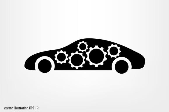 Car Gears Icon