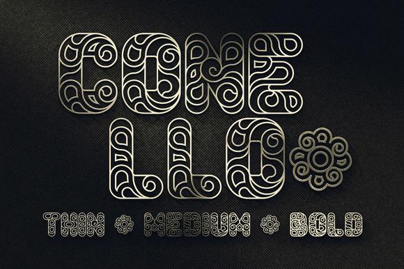 Conello Display Font