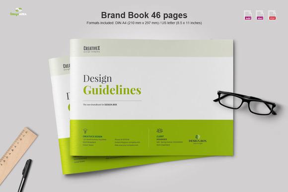Free Indesign Brand Book Template » Designtube