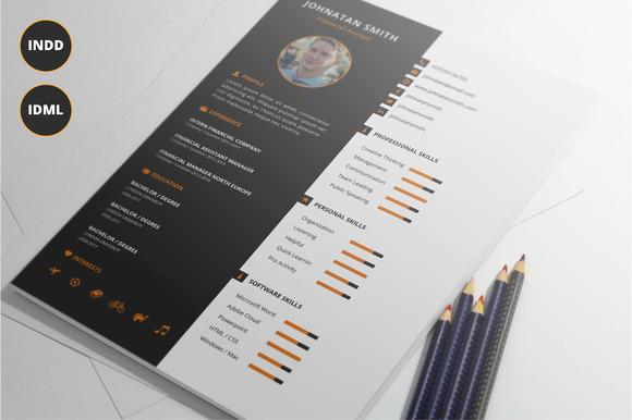 Modern Resume Template Vol.2