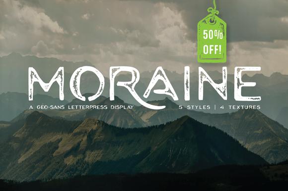 Moraine Family 50% Off Intro