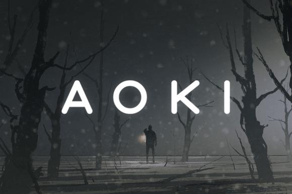 Aoki Typeface