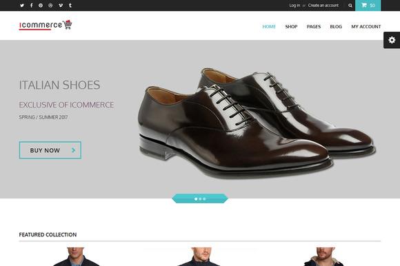 Icommerce Html E-commerce Template