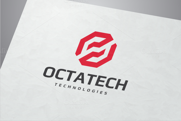 Octa Tech Logo