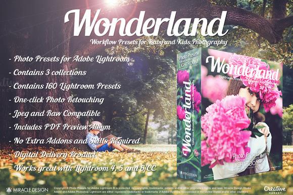 Presets For Lightroom Wonderland
