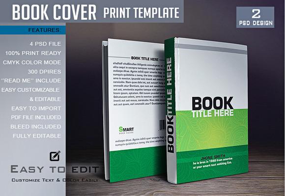D Book Cover Template Gimp : Photoshop create vintage book cover designtube