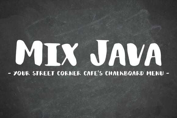 Mix Java