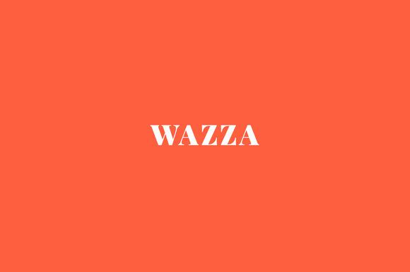 Wazza Onepage HTML Template