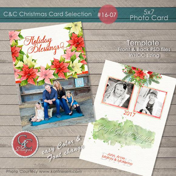 Christmas Photo Card Selection#16-07
