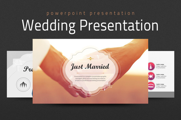 Slideshow presentation for wedding