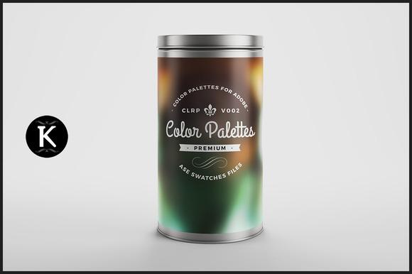 Color Palettes Can V002