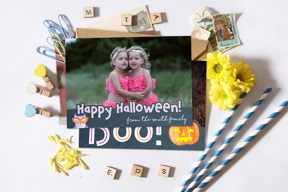 Halloween Card Cute Thrilling