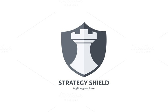 Strategy Shield Logo