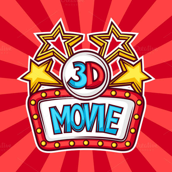 3D Movie Backgrounds