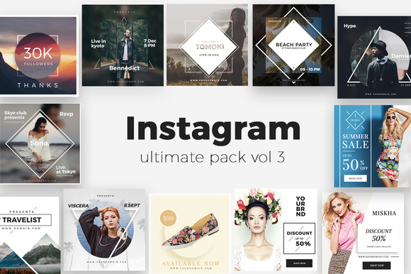 Instagram Ultimate Pack Vol 3