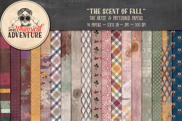 The Scent Of Fall Papers