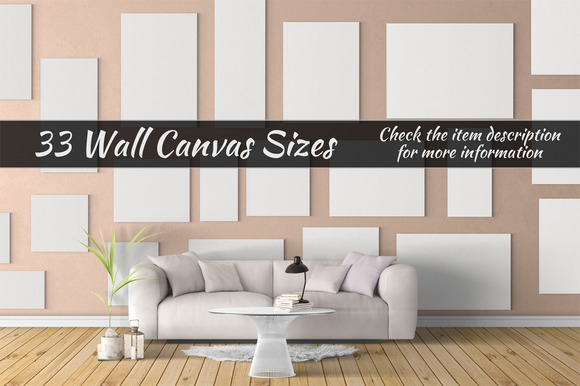 Canvas Mockups Vol 24